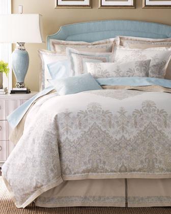 Charisma Royal Paisley Bed Linens Standard Sham traditional-sheets