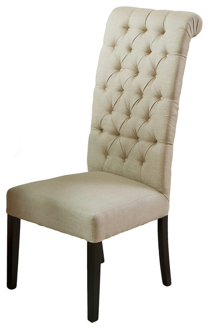 Tufted High Back Dining Room Chairs images : transitional dining chairs from gallerily.com size 408 x 640 jpeg 36kB
