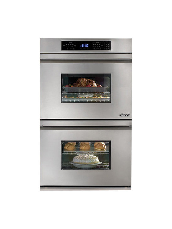 """Dacor Millennia 30"""" Double Electric Wall Oven, Stainless Steel 