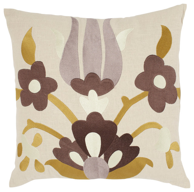 Lycia Pillow, Buttered Toast contemporary-decorative-pillows