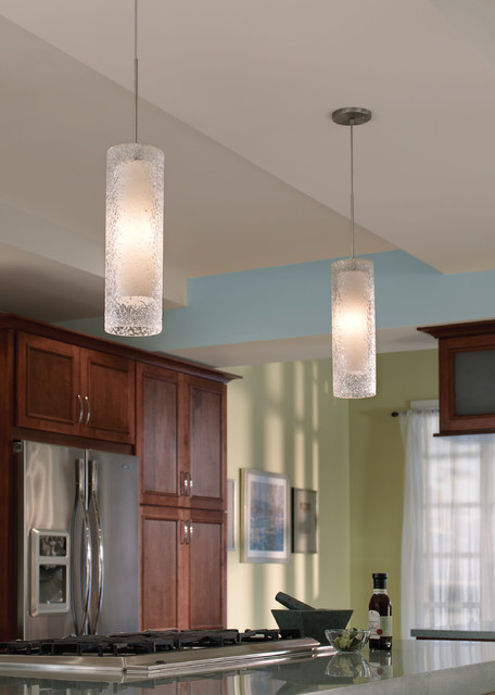 Rock Candy Cylinder Pendant Lamp by LBL - Contemporary - Pendant Lighting - other metro - by ...
