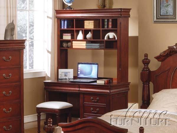 acme furniture classique ii traditional cherry computer