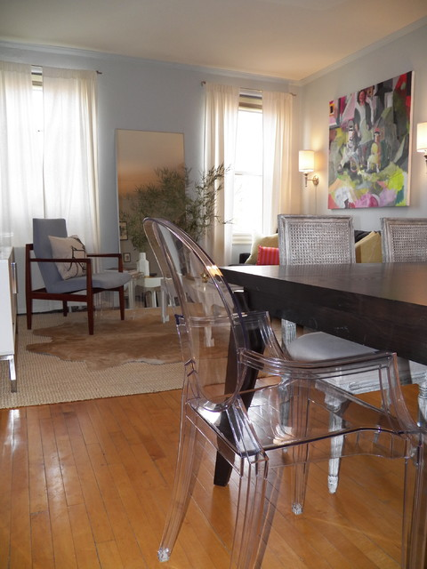D.C. Apartment eclectic-family-room