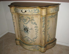 Buffet and sideboard - hand painted buffets-and-sideboards