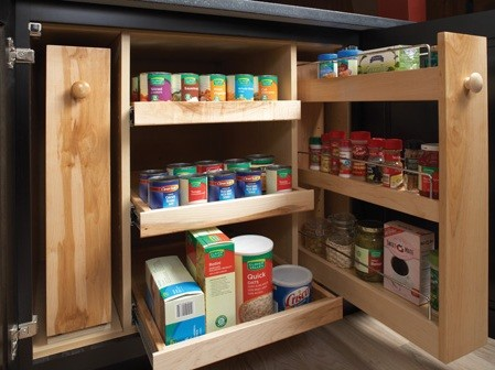 Storage Solutions - kitchen cabinets - other metro - by Wellborn ...