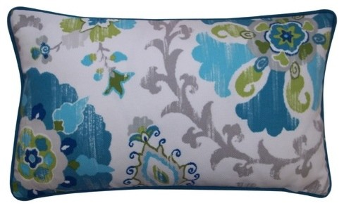 Petals Polyester Pillow modern-bed-pillows-and-pillowcases