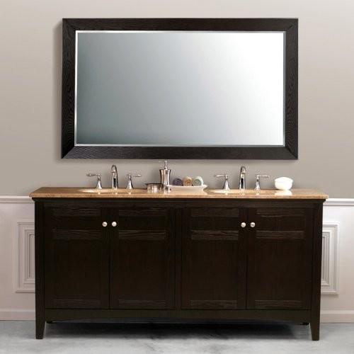Virtu USA Amerigo 72-in. Dark Espresso Double Bathroom Vanity Set LD-2120 contemporary-bathroom-vanities-and-sink-consoles