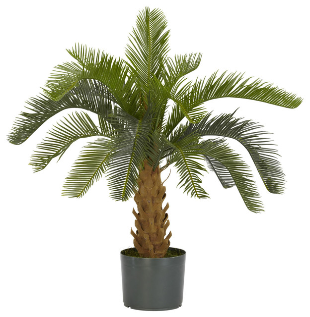 Nearly Natural Cycas Silk Plant traditional-artificial-flowers-plants-and-trees