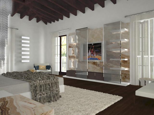 Coral Gables - Miami by PepeCalderinDesign - Interior designers Miami - Modern rendering