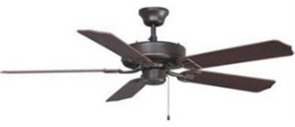 Fanimation BP200OB1-220 52 Inches Ceiling Fan Aire Décor Collection traditional-ceiling-fans
