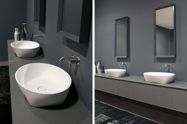 Bathroom Sink Top Mount : SOLIDEA top mount sink - Modern - Bathroom Sinks - miami - by ...