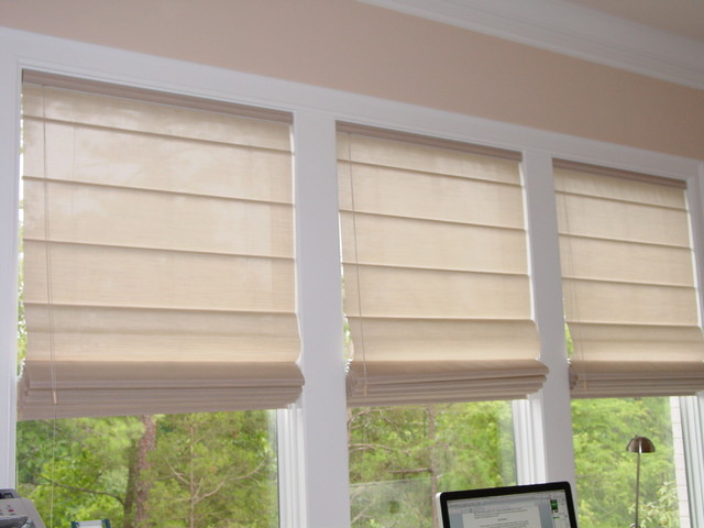 Hunter Douglas Roman Shades Traditional