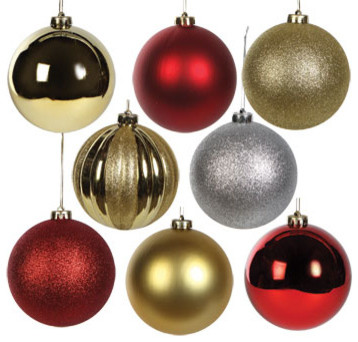 Add holiday cheer to your yard with these large outdoor Christmas ornaments. These oversized ornaments are the perfect Christmas decorations for your front yard, porch, or even inside your home.