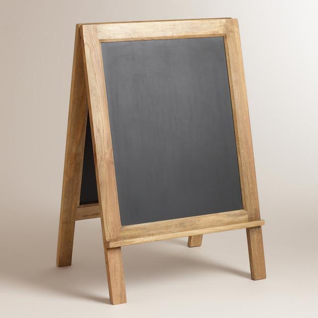Home Decor Chalkboard: Large Owen Bistro Chalkboard