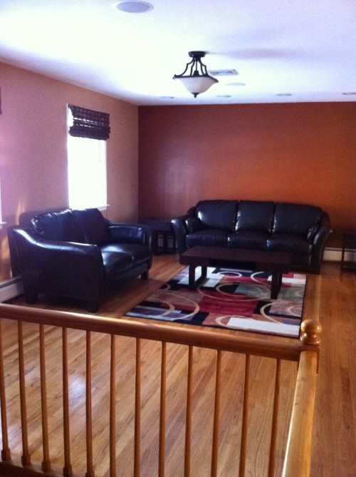 I just bought a raised ranch the living room is big and for Raised ranch living room design