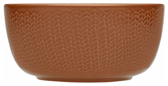 Sarjaton Bowl Letti, Red contemporary-bowls