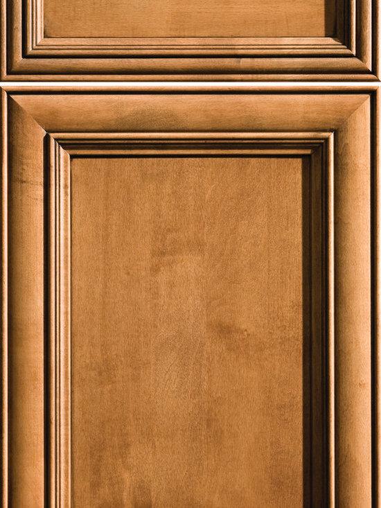 "Dura Supreme Cabinetry - Dura Supreme Cabinetry Sophia Cabinet Door Style - Dura Supreme Cabinetry ""Sophia"" cabinet door style in Maple shown with Dura Supreme's ""Clove"" with ""Black Accent"" finish."
