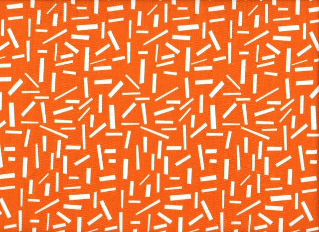 75W x 84L Shower Curtain Sprinkles Orange - Eclectic - Shower Curtains ...