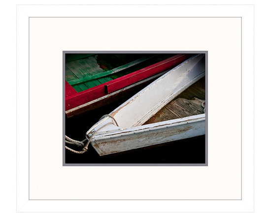 Big Fish Wooden Rowboats VI Wall Art