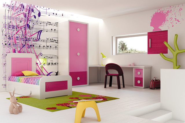 Contemporary Kids Beds