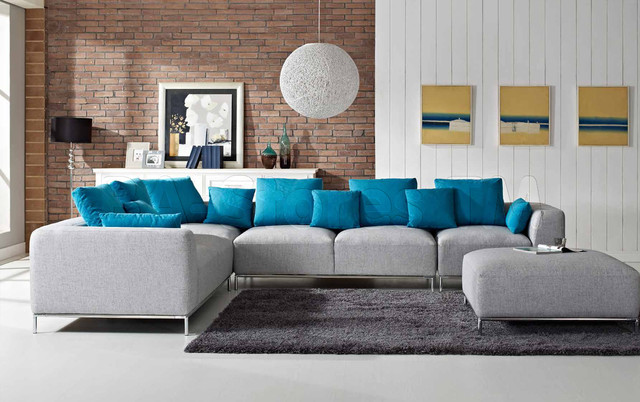Carina Light Grey And Aquamarine Woven Fabric Sectional Sofa Contemporary Sofas New York besides Jacques Grange together with 819420 as well Bertoia Chair 55648 likewise Modern Home Theaters 5600974490. on modern furniture living rooms