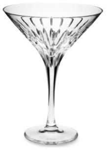 Mikasa Arctic Lights Modern 10 Ounce Crystal Martini Glass