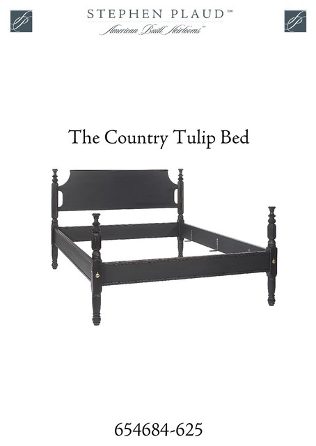Country Tulip Bed traditional-beds