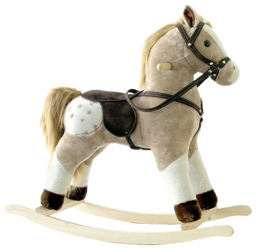 small plush rocking horse modern rocking chairs by
