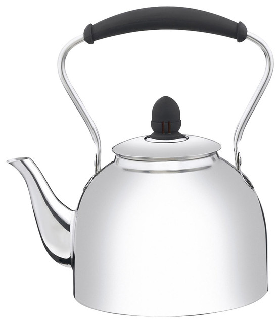 Cuisinart Coffee Maker Kettle : Cuisinart Stainless Steel 2-Quart Classic Whistling Kettle - Contemporary - Kettles - by HPP ...