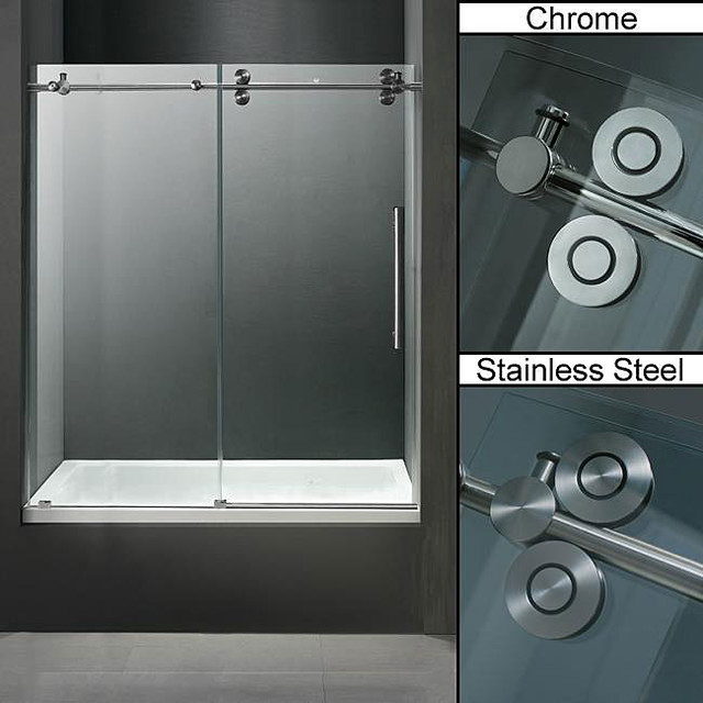 Shower barn door on pinterest for Subway vigo