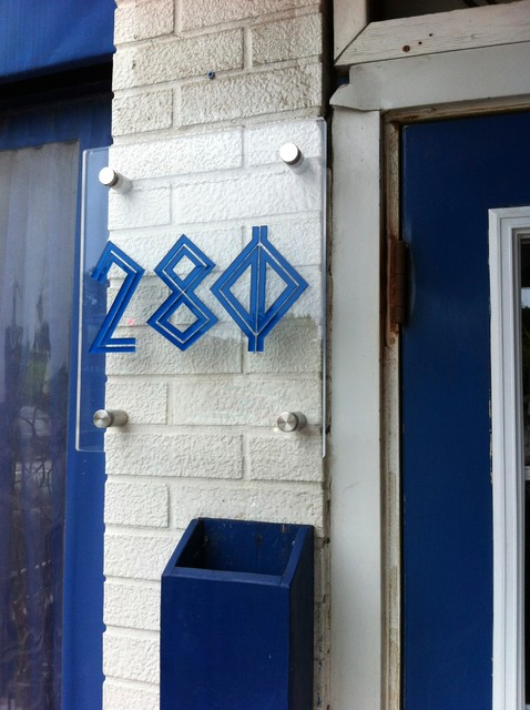 ... Number Signs - Contemporary - House Numbers - toronto - by Signs Den