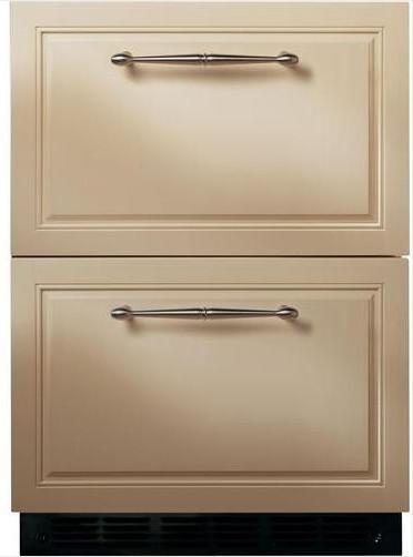 GE Monogram Double-Drawer Refrigerator Module modern-refrigerators-and-freezers