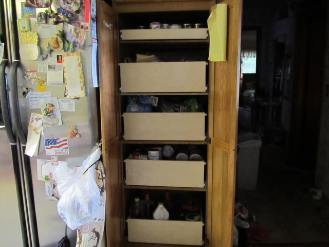 Pantry Pull Out Shelves pantry-cabinets