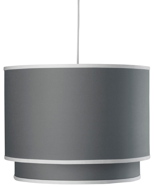 Solid Double Cylinder, Stone contemporary-pendant-lighting