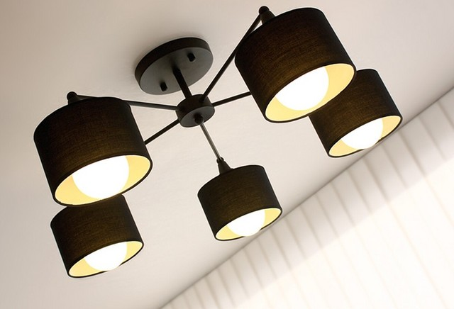 Modern 3/6/8 Fabric Shades Recessed Lighting contemporary