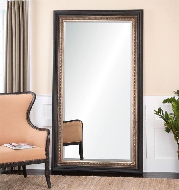 Uttermost Clermont Large Dark Bronze Floor Mirror X 84241
