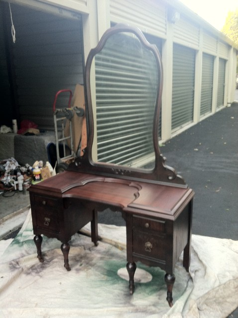 Vintage Vanity - Makeup Mirrors - other metro - by Unique Pieces In ...