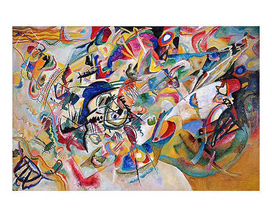 Composition No. 7 | Kandinsky | Painting Reproduction -