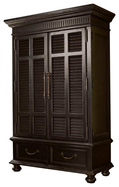 Tommy Bahama Kingstown Trafalgar Armoire - Traditional - Armoires And Wardrobes - by Benjamin ...