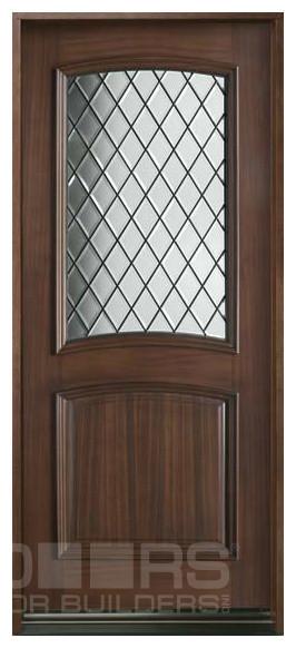 Diamond Collection (Custom Solid Wood Doors) - Front Doors - chicago - by Doors For Builders Inc