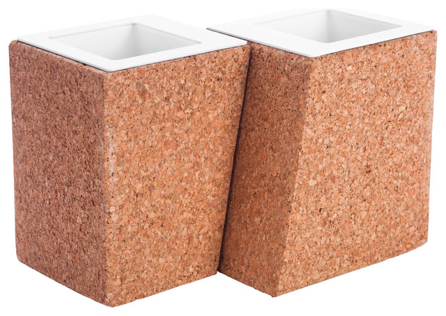 Nicole Planter, Set of 2 contemporary-indoor-pots-and-planters