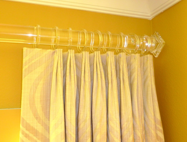 Hardware contemporary-curtain-rods