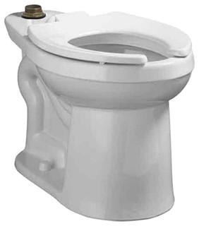 American Standard 3641.001.020 Flowise Elongated Flush Valve Toilet, White - Modern - Toilets ...