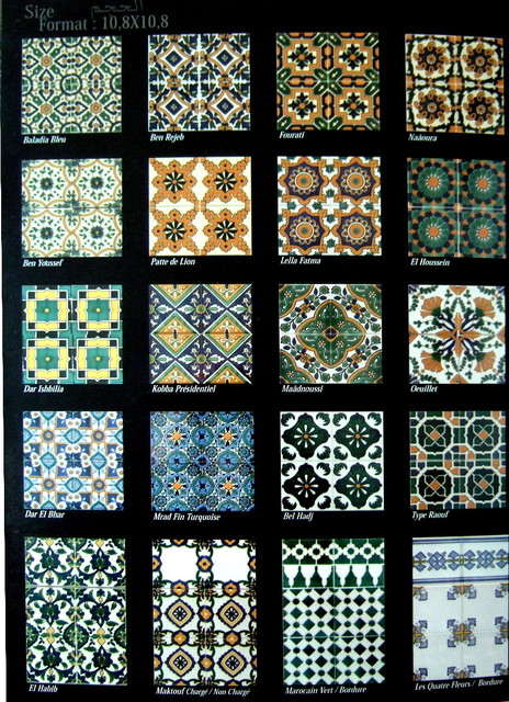 Hand painted ceramic tiles traditional wall and floor - Hand painted ceramic tile ...