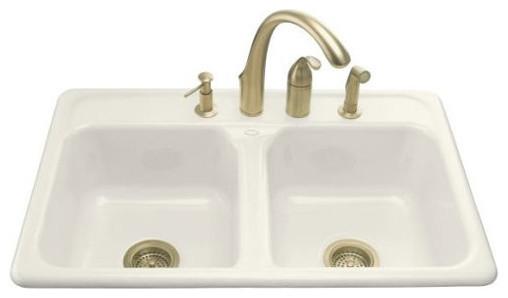Delafield Self-Rimming Kitchen Sink modern-bath-products