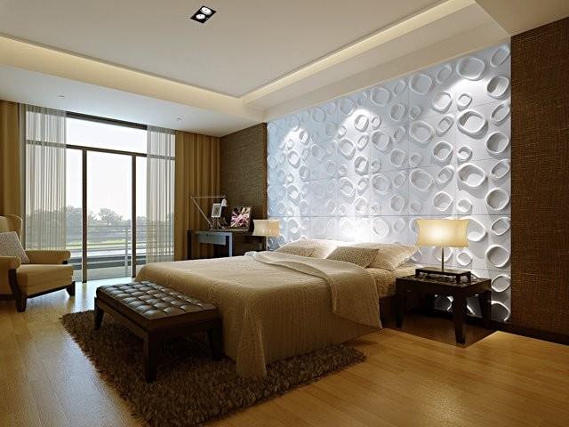 3D WALL PANELS(Raindrops) modern accessories and decor