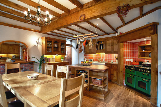 Banchory Residence traditional-kitchen