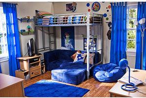 Your Zone Metal Twin Mattress Kid's Metal Bunk Loft Bed modern-kids-beds