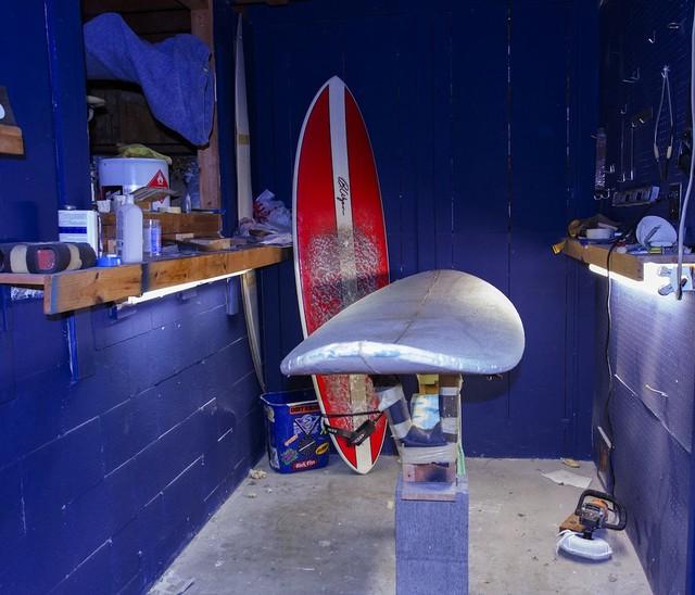 Surfboard Shaping Room Beach Style San Diego By Dana