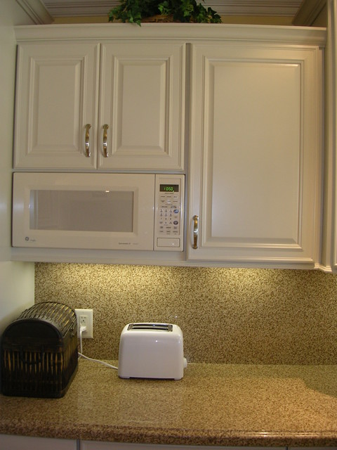 Very small U-shaped kitchen in West San Jose, CA - Traditional - Kitchen - san francisco - by ...